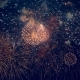 Lots of Vivid Fireworks Glowing in the Sky - VideoHive Item for Sale
