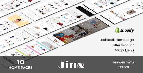 Jinx – Shopify Lookbook Fashion Theme