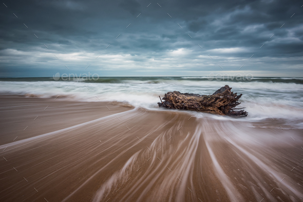 Stormy sea - Stock Photo - Images
