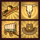 Western Icons - GraphicRiver Item for Sale