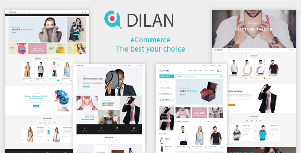 Image of Dilan – Fashion eCommerce HTML5 Template