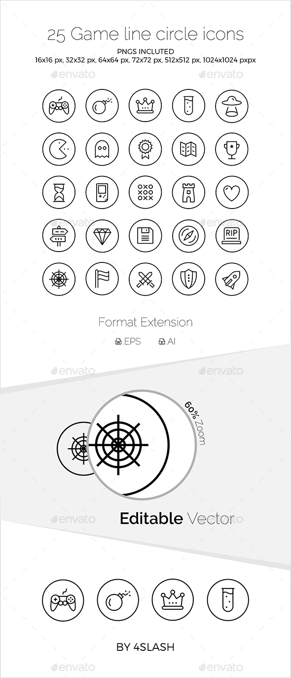 Game Icons - Icons