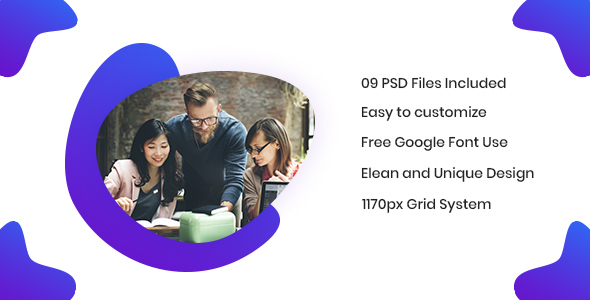 EAM - Agency PSD Template Free Download | Nulled