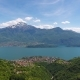 Aerial Landscape on Como Lake Between Mountains - VideoHive Item for Sale