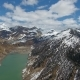Aerial View on Ritom Lake in Switzerland Alps - VideoHive Item for Sale