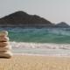 Beach, Sea, Sand,wave. Tropical Beach, Blue Sky, Clouds. Seascape Ocean and Beautiful Beach Paradise - VideoHive Item for Sale
