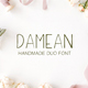 Damean Handmade Duo Font - GraphicRiver Item for Sale