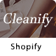Cleanify - Responsive Shopify theme with sections - ThemeForest Item for Sale