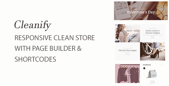 Cleanify - Responsive Shopify theme with sections