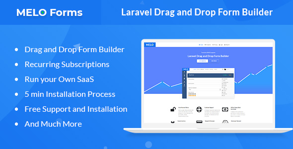 MeloForms - Laravel Drag and Drop Form Builder Software - CodeCanyon Item for Sale