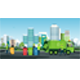 City Waste Trucks - GraphicRiver Item for Sale