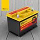 Car Battery Mockup