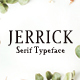 Jerrick Serif 6 Font Pack - GraphicRiver Item for Sale