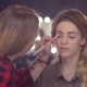 The Makeup Artist Correcting the Shape of Eyebrow - VideoHive Item for Sale