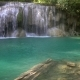 Erawan Waterfall with Fish in Water in Thailand - VideoHive Item for Sale