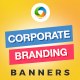 Corporate Branding Banner Set - GraphicRiver Item for Sale