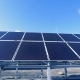 Many Solar Panels on a Roof. Big Sun Panels Collect Sunlight To Convert It Into Energy. - VideoHive Item for Sale