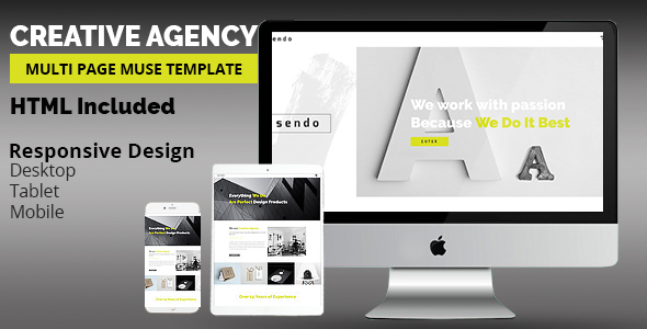 SENDO Creative Muse Template