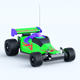 Toy Racing Car - GraphicRiver Item for Sale