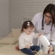 Portrait of a Pediatrician and a Child in Hospital - VideoHive Item for Sale