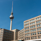 The famous Television Tower and some buildings from GDR times - PhotoDune Item for Sale