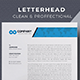 Letterhead Template - GraphicRiver Item for Sale