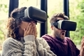 Young couple using VR together - PhotoDune Item for Sale