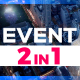 2 in 1 Event Promo // Modern Parallax - VideoHive Item for Sale