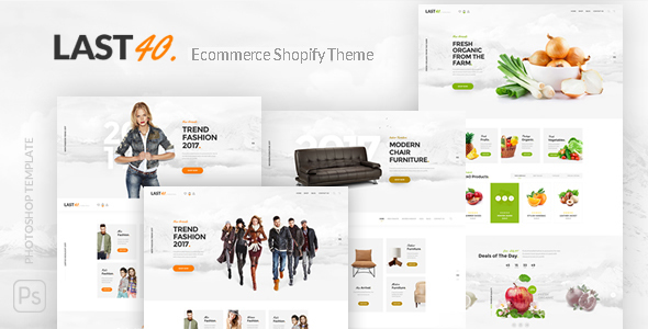 Image of Last40 Store - Ecommerce Shopify Theme