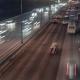 Highway Night Cars Traffic
