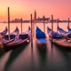 Scenic view of gondolas and San Giorgio Maggiore basilica in Venice - PhotoDune Item for Sale