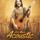 Acoustic Flyer - GraphicRiver Item for Sale