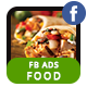 Food Business FB Ad Banner - AR - GraphicRiver Item for Sale