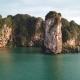 Aerial View of Tropical Lagoon Beach Between Rocks - VideoHive Item for Sale