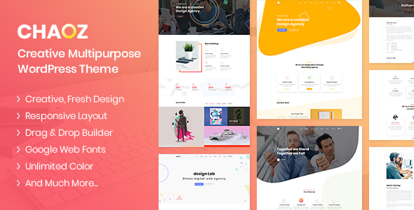 Chaoz - Creative Multi-Purpose WordPress Theme - Technology WordPress