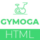 Gymoga Gym & Fitness HTML5 Responsive Template - ThemeForest Item for Sale