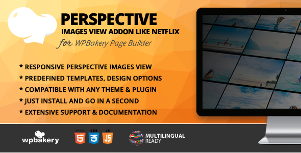 Perspective Image View Addon for WPBakery Page Builder (formerly Visual Composer) - CodeCanyon Item for Sale