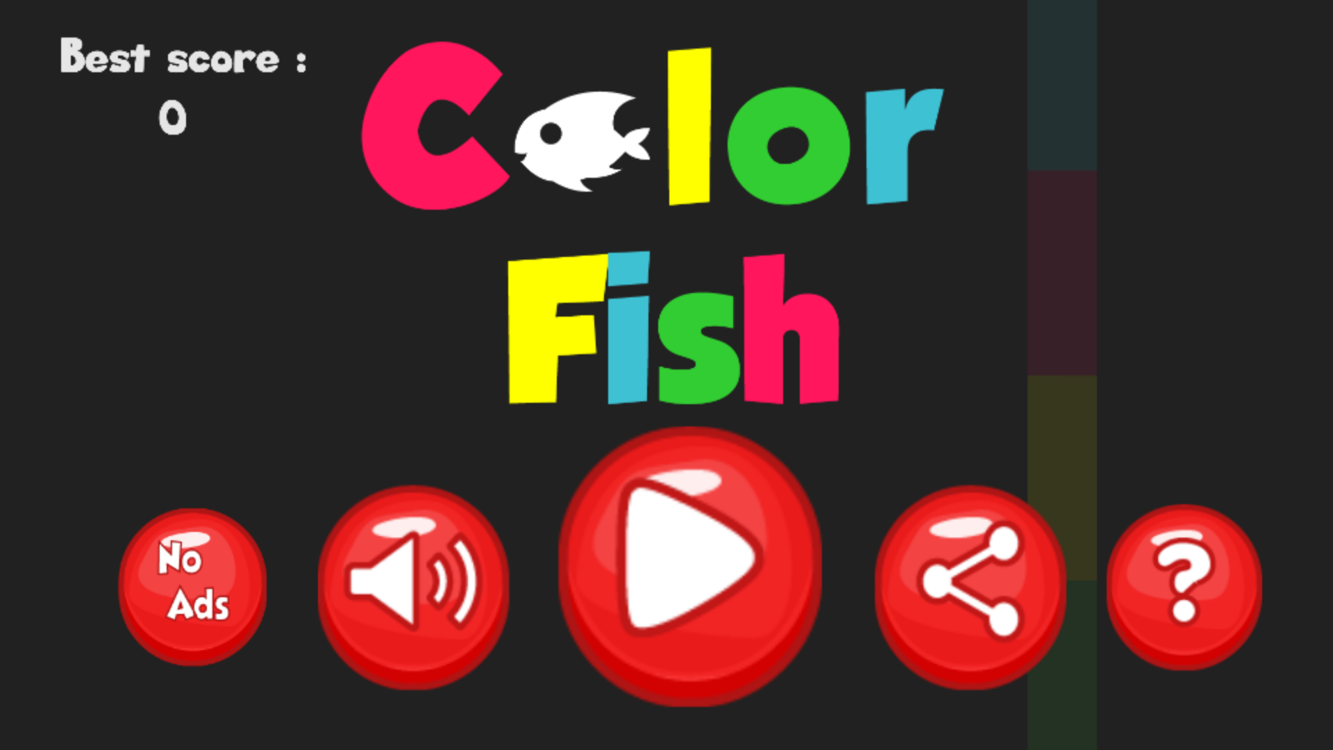 Color Fish - Xcode ios Project & Buildbox Game Project by RgzStudioTeam
