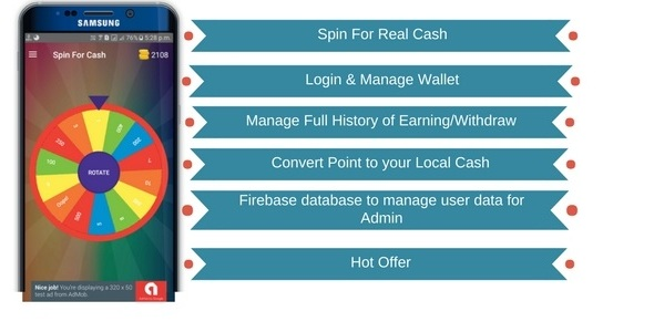Spin For Cash - CodeCanyon Item for Sale