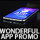 Wonderful App Promo - VideoHive Item for Sale