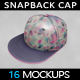 Snapback Cap Mockup - GraphicRiver Item for Sale
