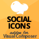 All in One Social Icons Addon for WPBakery Page Builder (formerly Visual Composer)