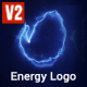 Glitch Energy Logo - VideoHive Item for Sale