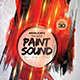 Paint Sound Photoshop Flyer Template - GraphicRiver Item for Sale
