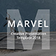 Marvel Creative & Model Google Slide Template