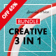 Special Creative Bundle 3in1 PowerPoint Templates - GraphicRiver Item for Sale