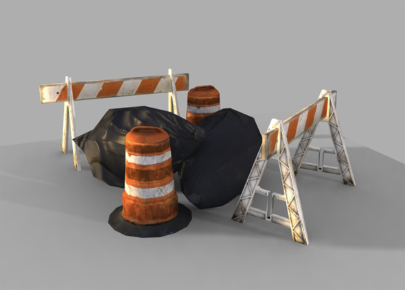 Construction Props - 3DOcean Item for Sale