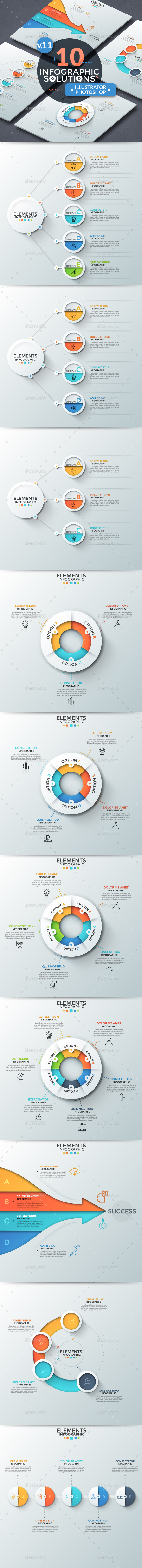 Infographic Solutions. Part 11 - Infographics