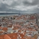 Panoramic View of Lisbon City and Tagus River - VideoHive Item for Sale
