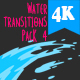 Water Transitions Pack 4 - VideoHive Item for Sale